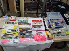Light tackle soft plastics and jigs