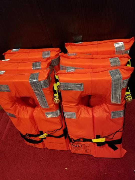 Safety equipment - PFDs