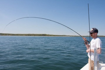 Guide Colin is hooked up on the Sage Salt HD